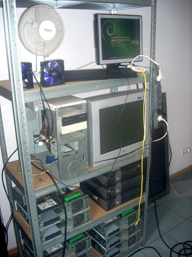 Instalacja Debiana na masterze